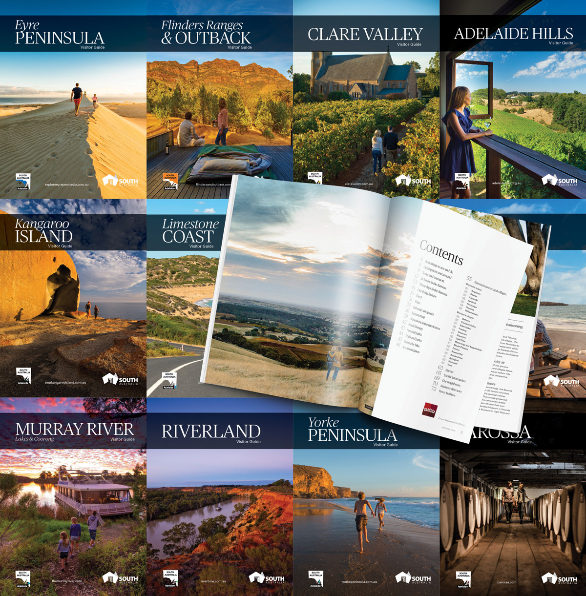 South Australian Tourism Commission Regional Visitor Guides